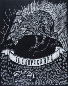 Chupacabra by Tina Tavera. Photo credit: Xavier Tavera.
