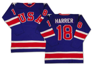 Tim Harrer's Olympic jersey