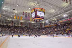 Mariucci Arena. Photo credit: University of Minnesota Athletics
