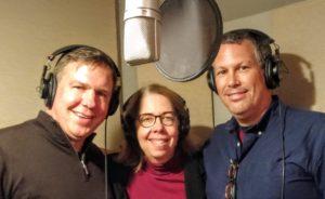 Dan Wallace, Renée Marino and Aaron Keller, authors of The Physics of Brand.