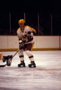 Gopher hockey great Tim Harrer. Photo credit: University of Minnesota Athletics